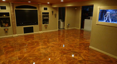 Epoxy Basement Floors