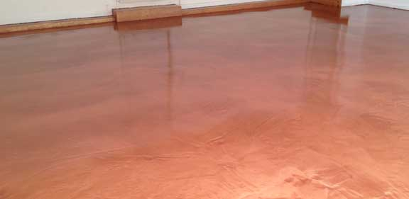 metallic epoxy garage floor coating