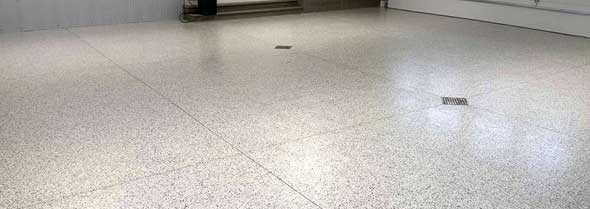 commercial epoxy flooring Corona