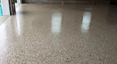 Epoxy Flake Garage