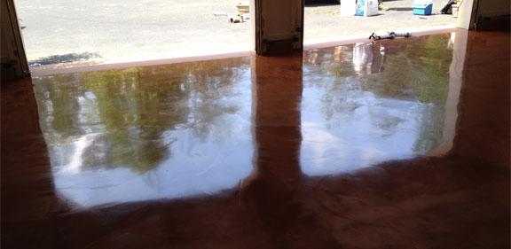 Metallic Epoxy Garage Floor Coating