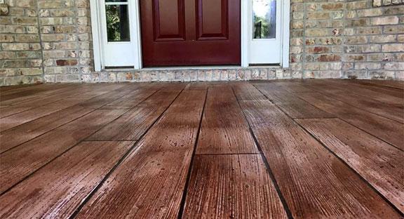 Concrete Floors That Look Like Wood